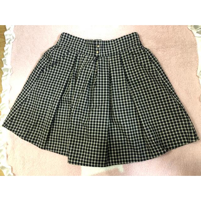 MAJESTIC LEGON(マジェスティックレゴン)の♡MAJESTIC LEGON サスペンダー付きチェックスカート レディースのスカート(ひざ丈スカート)の商品写真