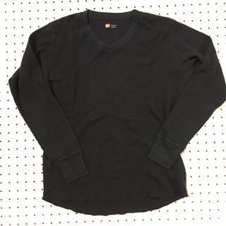 ヘインズ(Hanes)のHanes サーマル Vネック(Tシャツ/カットソー(七分/長袖))