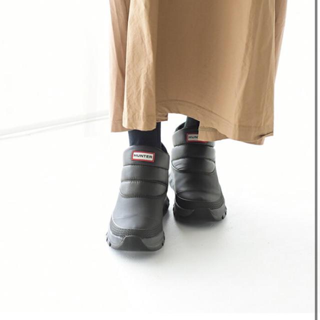 HUNTER(ハンター)のハンター スノーブーツ 24cm レディースの靴/シューズ(レインブーツ/長靴)の商品写真