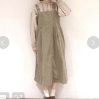 SM2 - 細コーデュロイジャンパースカート