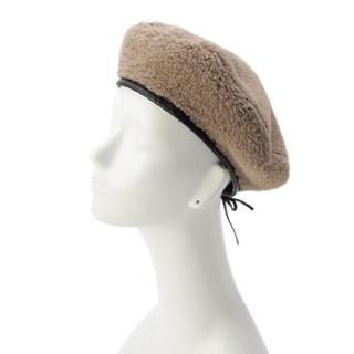サマンサモスモス(SM2)のボアベレー帽(ハンチング/ベレー帽)