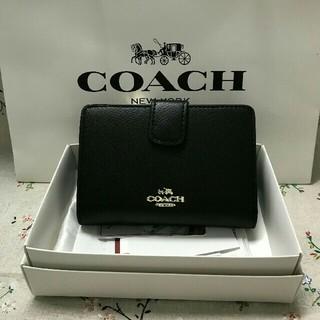 COACH - 新品COACH コーチ 二つ折り財布 F53436 正規品 アウトレット