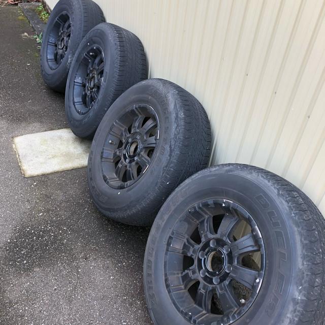 BRIDGESTONE(ブリヂストン)のタイヤホイールセット 4本 自動車/バイクの自動車(タイヤ・ホイールセット)の商品写真