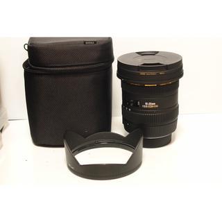 SIGMA - シグマSIGMA 10-20mmF3.5 NIKONマウント フィルター付