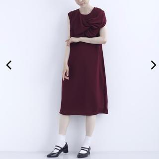merlot - 新品未使用タグ付き ワイン色ドレス