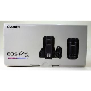 キヤノン(Canon)の≪新品・送料無料≫2台 Canon EOS Kiss X9i ダブルズームキット(デジタル一眼)
