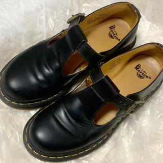 ドクターマーチン(Dr.Martens)の週末限定値下げ ドクターマーチン メリージェーン ポリー UK6 25.0cm(ローファー/革靴)