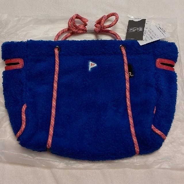 ROOTOTE(ルートート)の新品✨ROOTOTE もこふわトート  (ブルー) レディースのバッグ(トートバッグ)の商品写真