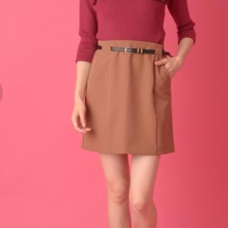 セシルマクビー(CECIL McBEE)のCECIL McBEE ベルト付きミニスカート(ミニスカート)