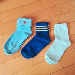 ウィゴー(WEGO)のスポーティな靴下3点セット(ソックス)