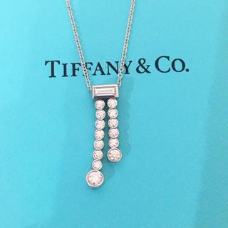 Tiffany & Co. - ティファニー ジャズ ダブルドロップ ネックレス