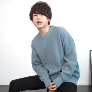 GU - アゼクルーネックセーター