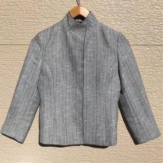 23区 - 23区 スーツ セットアップ ジャケット スカート グレー