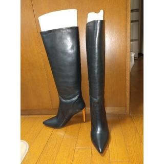 バイマレーネビルガー ロングブーツ サイズ40(ブーツ)