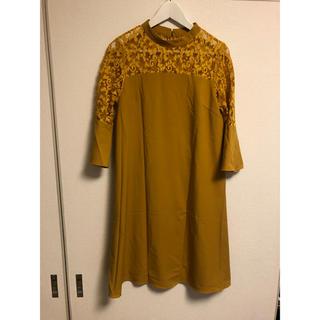 ローズバッド(ROSE BUD)のオケージョン用ワンピース(ミディアムドレス)