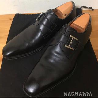 リーガル(REGAL)の【美品】マグナーニ 7.0 M モンクストラップ MAGNANNI(ドレス/ビジネス)