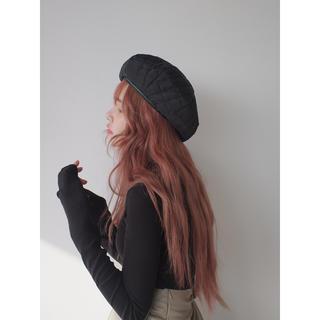 STYLENANDA - STYLENANDA キルティングベレー帽