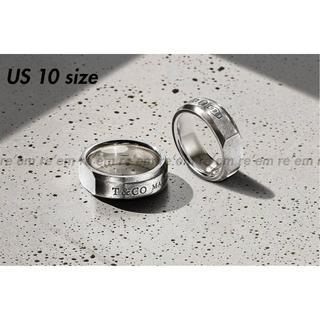 ティファニー(Tiffany & Co.)のTiffany&Co. 限定 Makers Tumbled Slice Ring(リング(指輪))
