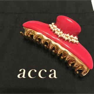アッカ(acca)のacca ヘアクリップ(中) ダブルカテーナ / アッカ(バレッタ/ヘアクリップ)