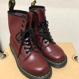 ドクターマーチン(Dr.Martens)のDr.Martens 1460 CHERRY RED UK5 (24cm)(ブーツ)