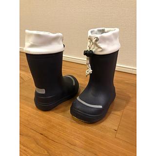 ムジルシリョウヒン(MUJI (無印良品))の【MUJI】レインブーツ 長靴 kids 14〜15cm(長靴/レインシューズ)