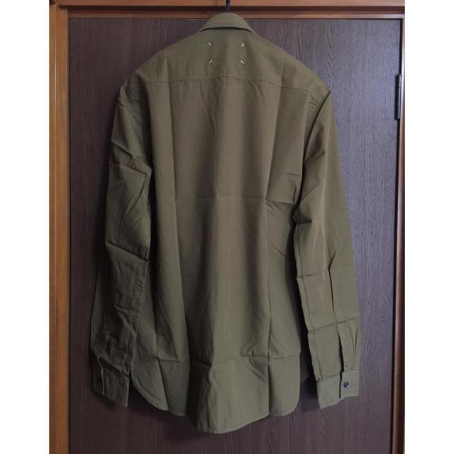 Maison Martin Margiela(マルタンマルジェラ)の新品64%off メゾンマルジェラ コットン 長袖シャツ メンズ カーキ メンズのトップス(シャツ)の商品写真