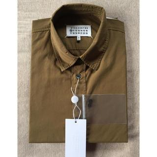 マルタンマルジェラ(Maison Martin Margiela)の新品64%off メゾンマルジェラ コットン 長袖シャツ メンズ カーキ(シャツ)
