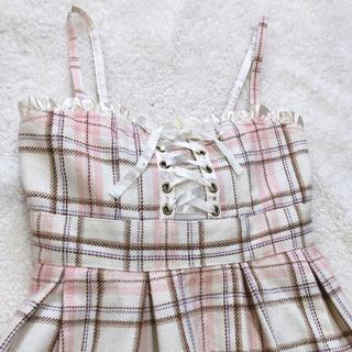 LIZ  LISA  ピンク  ワンピ