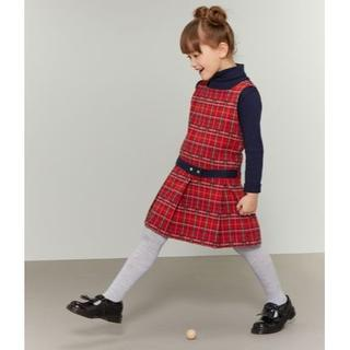 PETIT BATEAU - 19aw☆プチバトー タータンチェックジャンパースカート