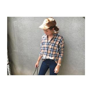 GU - フランネルチェックシャツ