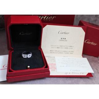 カルティエ(Cartier)のCartier☆マイヨンパンテールリング☆極美品☆52ハーフダイヤWG(リング(指輪))