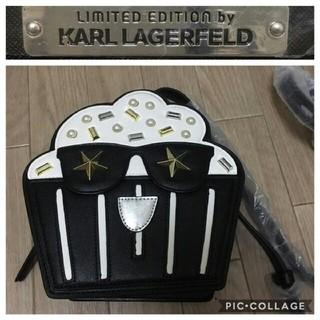 カールラガーフェルド(Karl Lagerfeld)の新品 Karl Lagerfeld☆マフィンポシェット ショルダー(ショルダーバッグ)