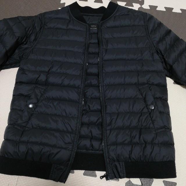 SHIPS(シップス)の【SHIPS 】軽量ダウン ブラック レディースのジャケット/アウター(ダウンジャケット)の商品写真