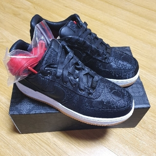 ナイキ(NIKE)のclot fragment nike air force 1 black(スニーカー)