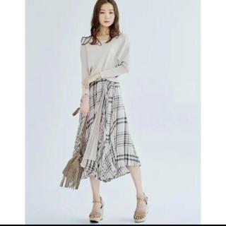 COCO DEAL - ココディール♡先染めチェックプリーツラップスカート