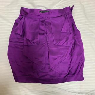 ドルチェアンドガッバーナ(DOLCE&GABBANA)のアメリカで購入❗️ 膝上スカート 0/XSサイズ(ミニスカート)