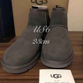 UGG - UGGクラシックミニII ムートンブーツ✨23cm グレー