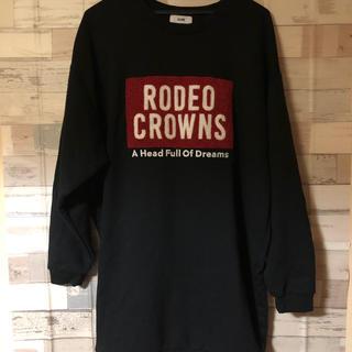 ロデオクラウンズ(RODEO CROWNS)の❤RODEO  CROWNSトレーナーワンピース❤(トレーナー/スウェット)