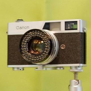 35mmフイルムカメラ キャノネット です