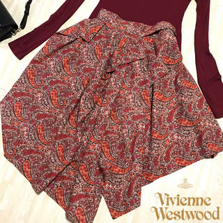 Vivienne Westwood - 美品ヴィヴィアンウエストウッド *ペイズリー変形ラップスカート