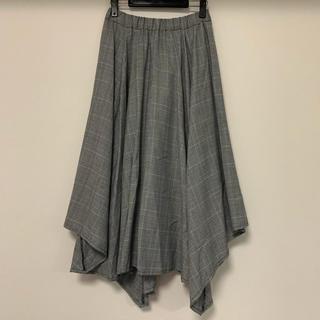ジーナシス(JEANASIS)の美品❤JEANASIS アシンメトリー変形ロングスカート(ロングスカート)