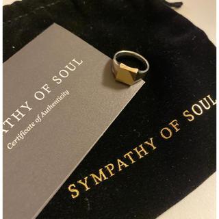 エスオーエスエフピー(S.O.S fp)のSYMPATHY OF SOUL 指輪 ピンキーリング(リング(指輪))