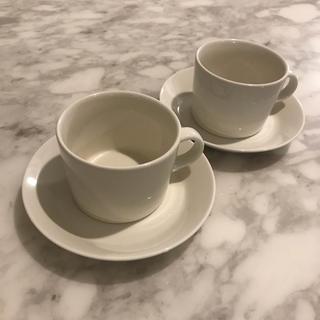 イッタラ(iittala)のeco*様専用【美品】イッタラ ティーマ  コーヒーカップ 2客セット ホワイト(グラス/カップ)
