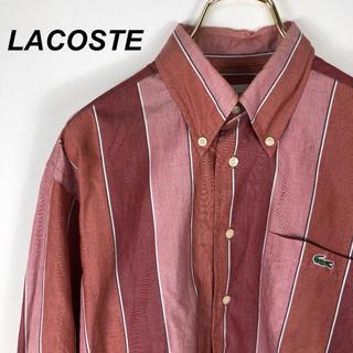 ラコステ(LACOSTE)の90's LACOSTE ストライプ シャツ 古着(シャツ)
