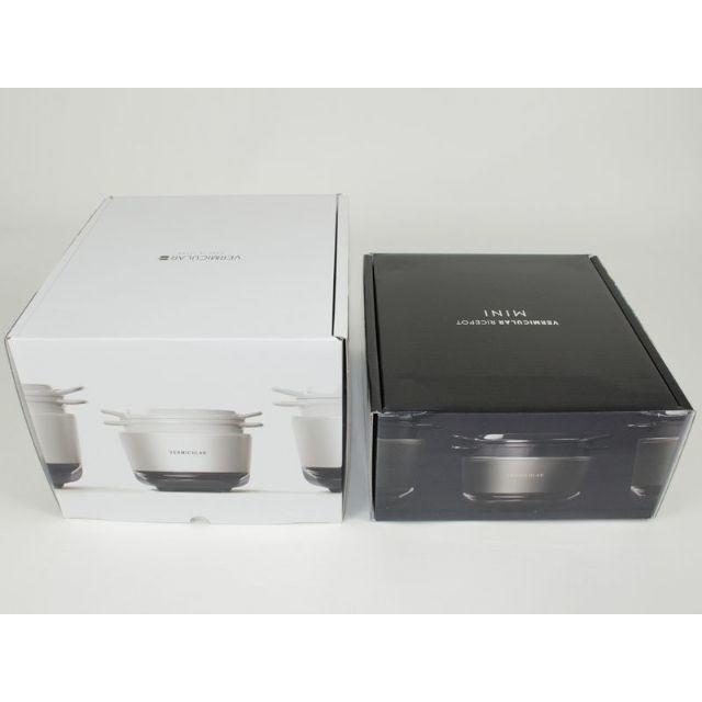 Vermicular(バーミキュラ)の新品・未開封☆バーミキュラ ライスポットミニ RP19A-SV(シルバー) 3合 スマホ/家電/カメラの調理家電(炊飯器)の商品写真