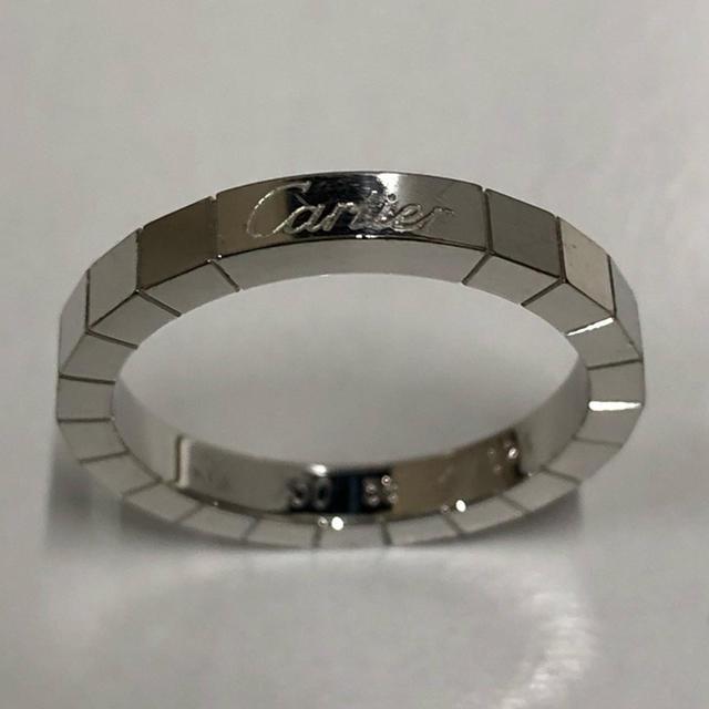 Cartier(カルティエ)の💝美品カルティエ ラニエール リング ホワイトゴールド58 ギャランティー付き レディースのアクセサリー(リング(指輪))の商品写真