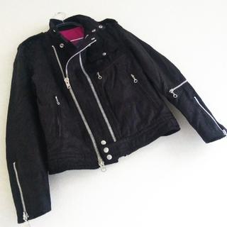 RUPERT - ◆31【 期間限定 】 ダブルジップ シングル ライダース ジャケット 黒