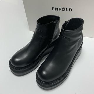 ENFOLD - 人気完売 2019AW【ENFOLD  エンフォルド】今期 ブーツ 37  厚底