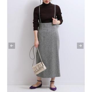 Noble - NOBLE  ショルダーストラップサロペットスカート