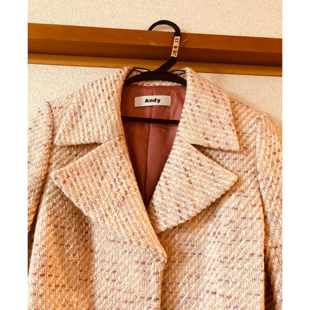 Andy(アンディ)のまーぶるぱん様専用✨チェスターコート レディースのジャケット/アウター(チェスターコート)の商品写真